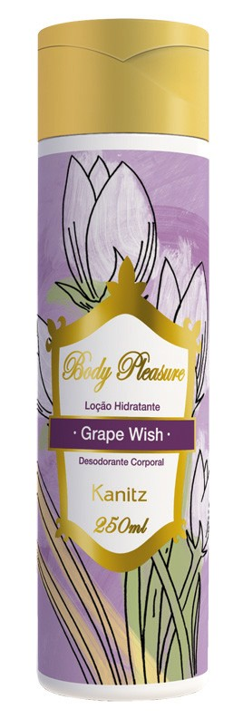 Loção Hidratante Body Pleasure Grape Wish 250ml