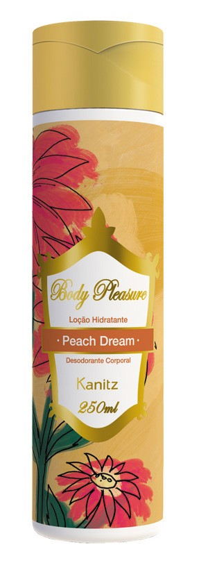 Loção Hidratante Body Pleasure Peach Dream 250ml