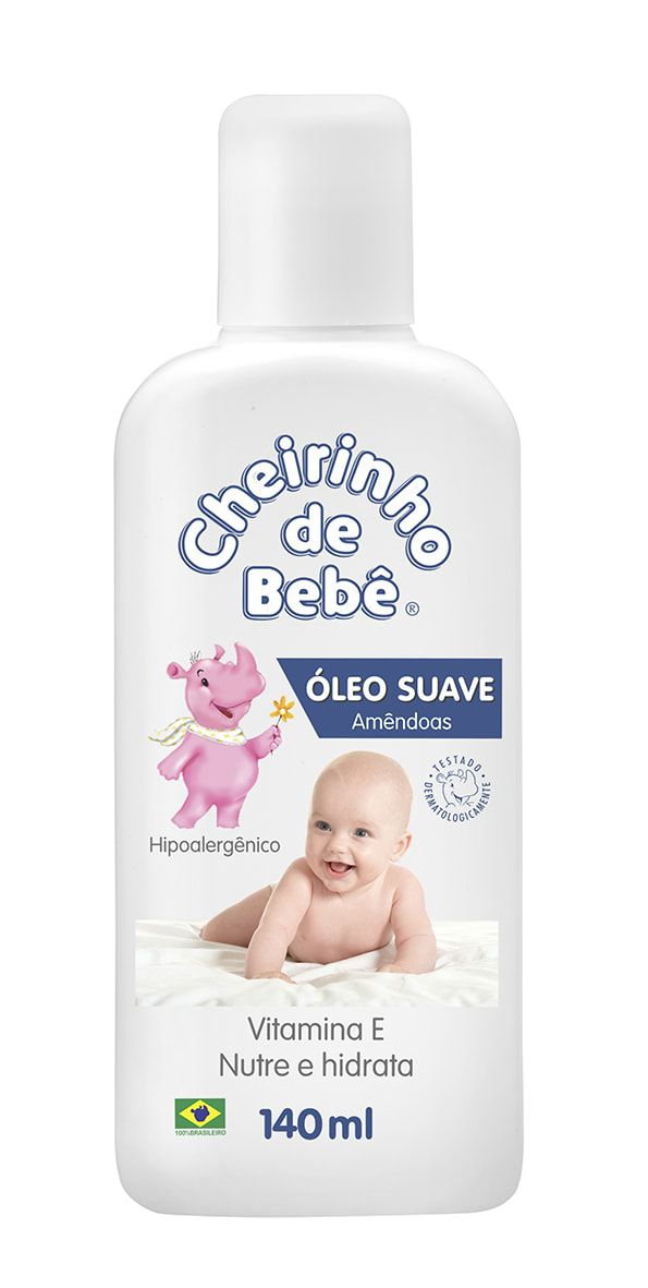 Óleo Suave Cheirinho de Bebê