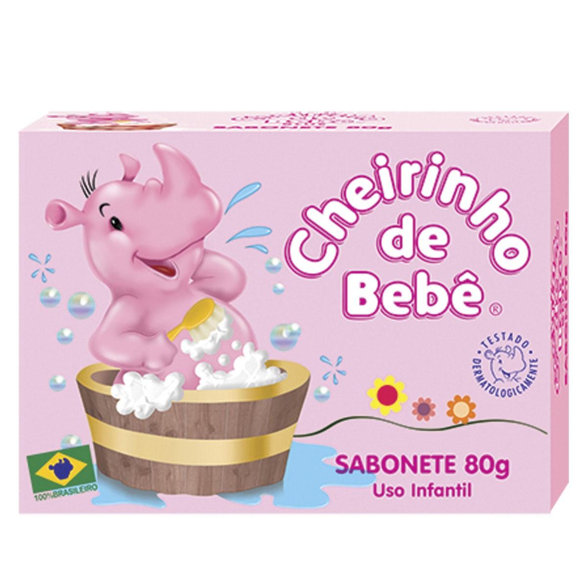 Sabonete Cheirinho de Bebê 80g