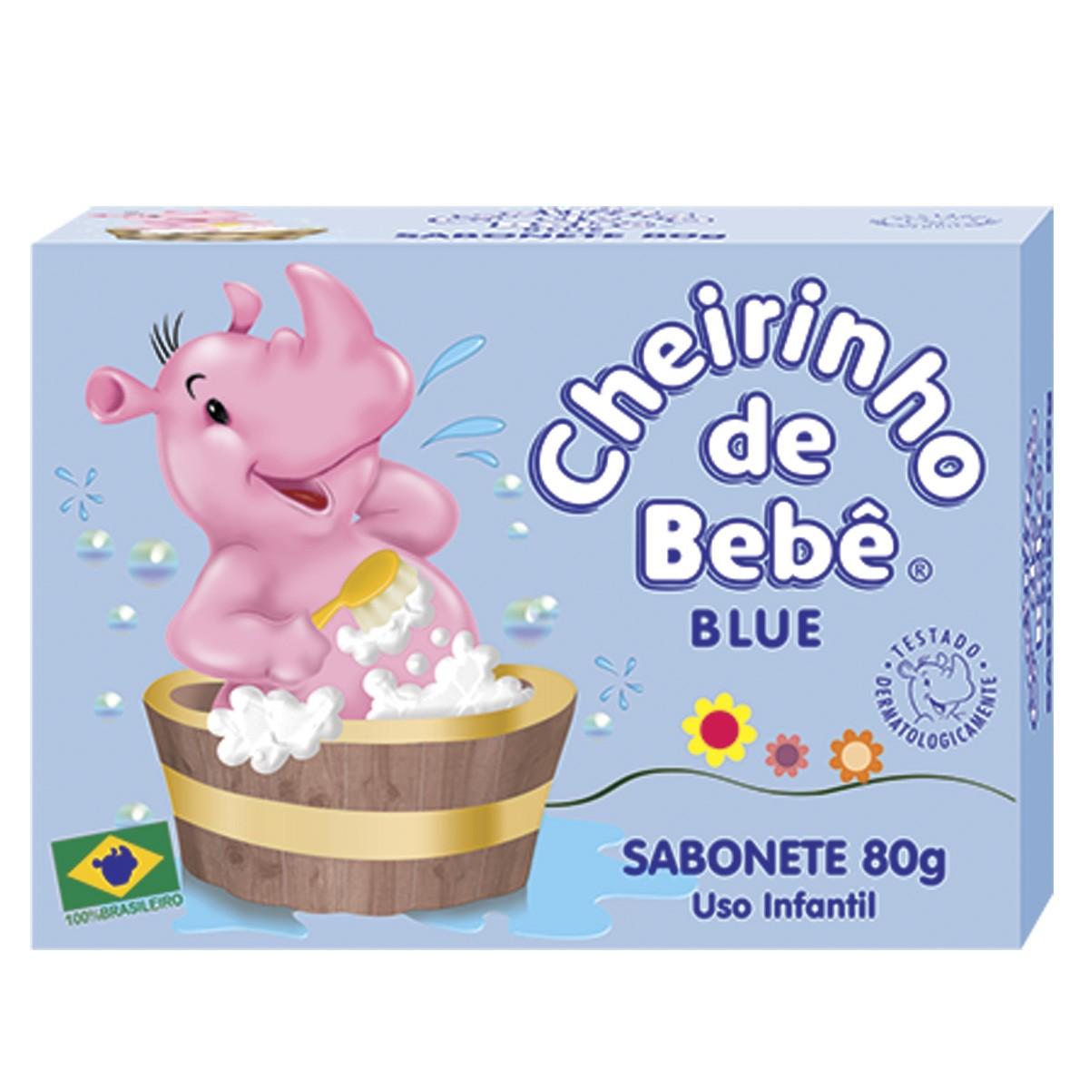 Sabonete Cheirinho de Bebê Blue 80g