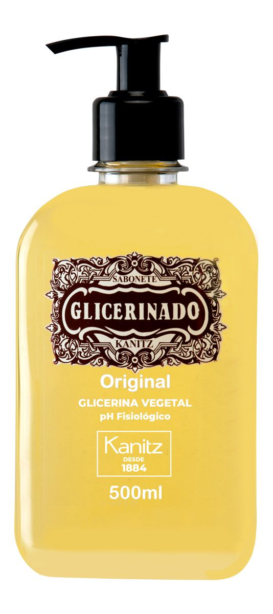 Sabonete Glicerinado Original Kanitz 500 ml