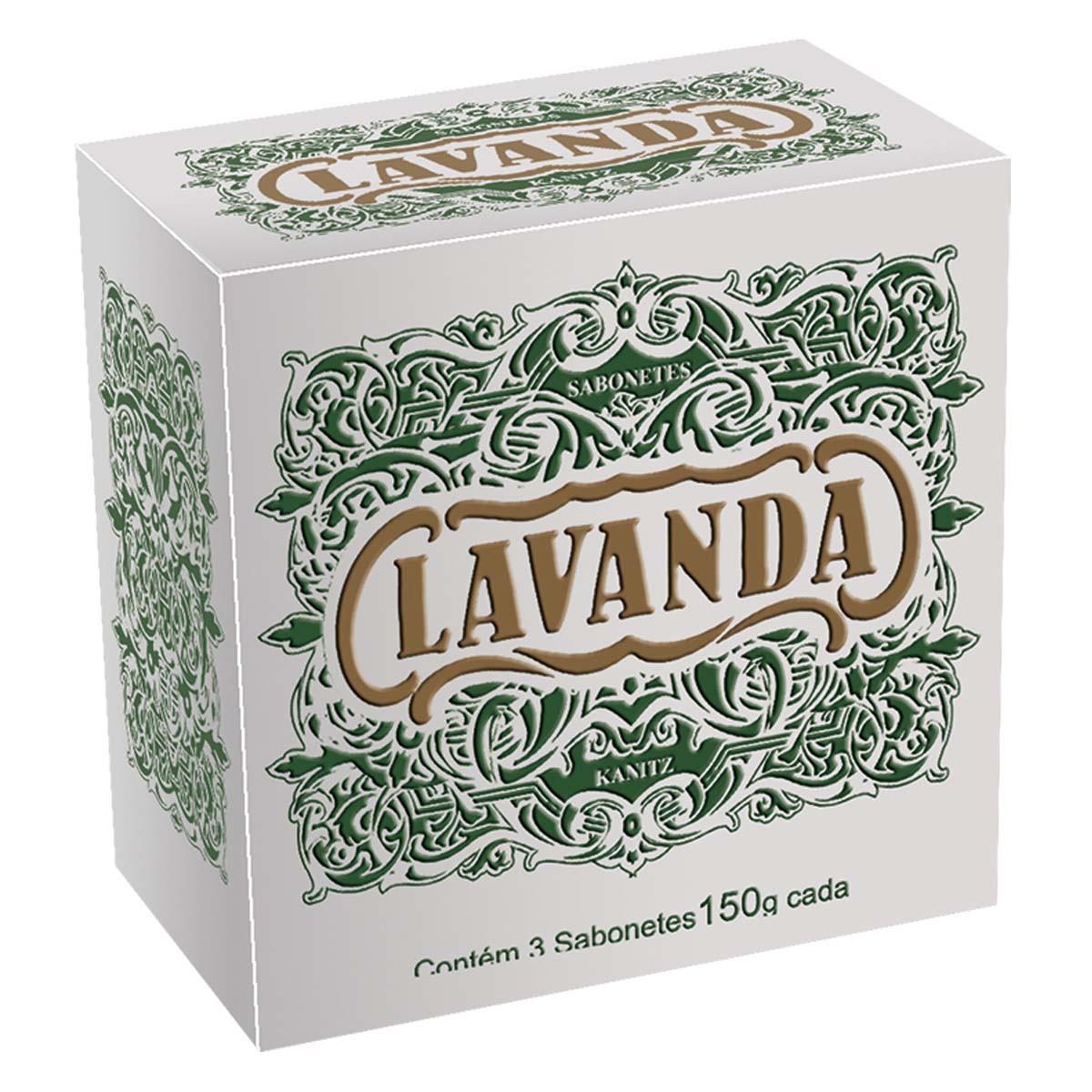 Sabonete Lavanda 3x150g