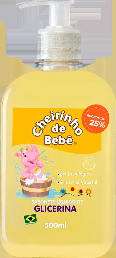 Sabonete Líquido Glicerinado Cheirinho de Bebê 500 ml