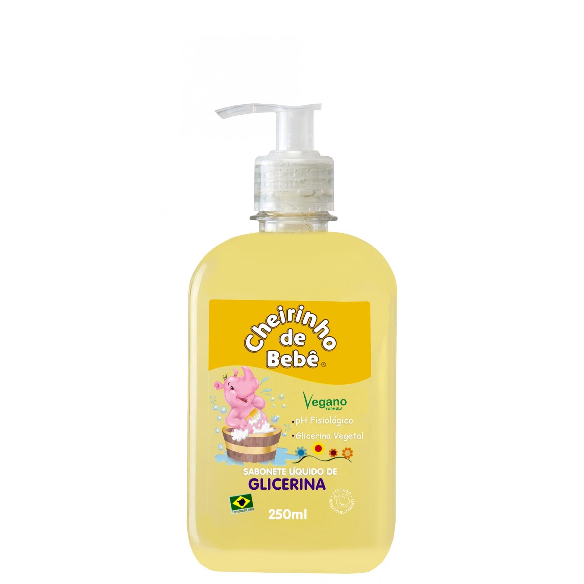 Sabonete Líquido Glicerinado Cheirinho de Bebê 250 ml