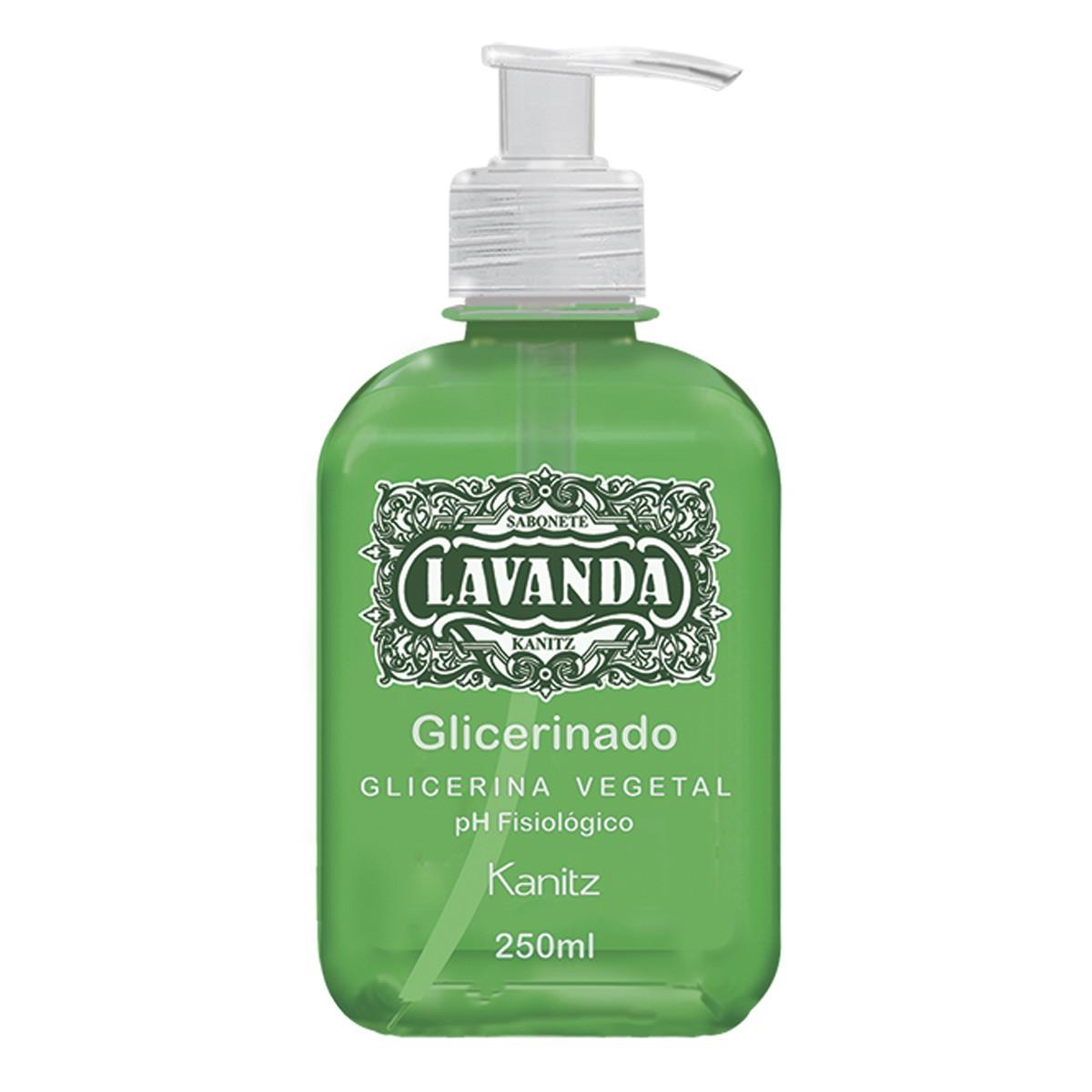 Sabonete Glicerinado Lavanda Kanitz  250 ml