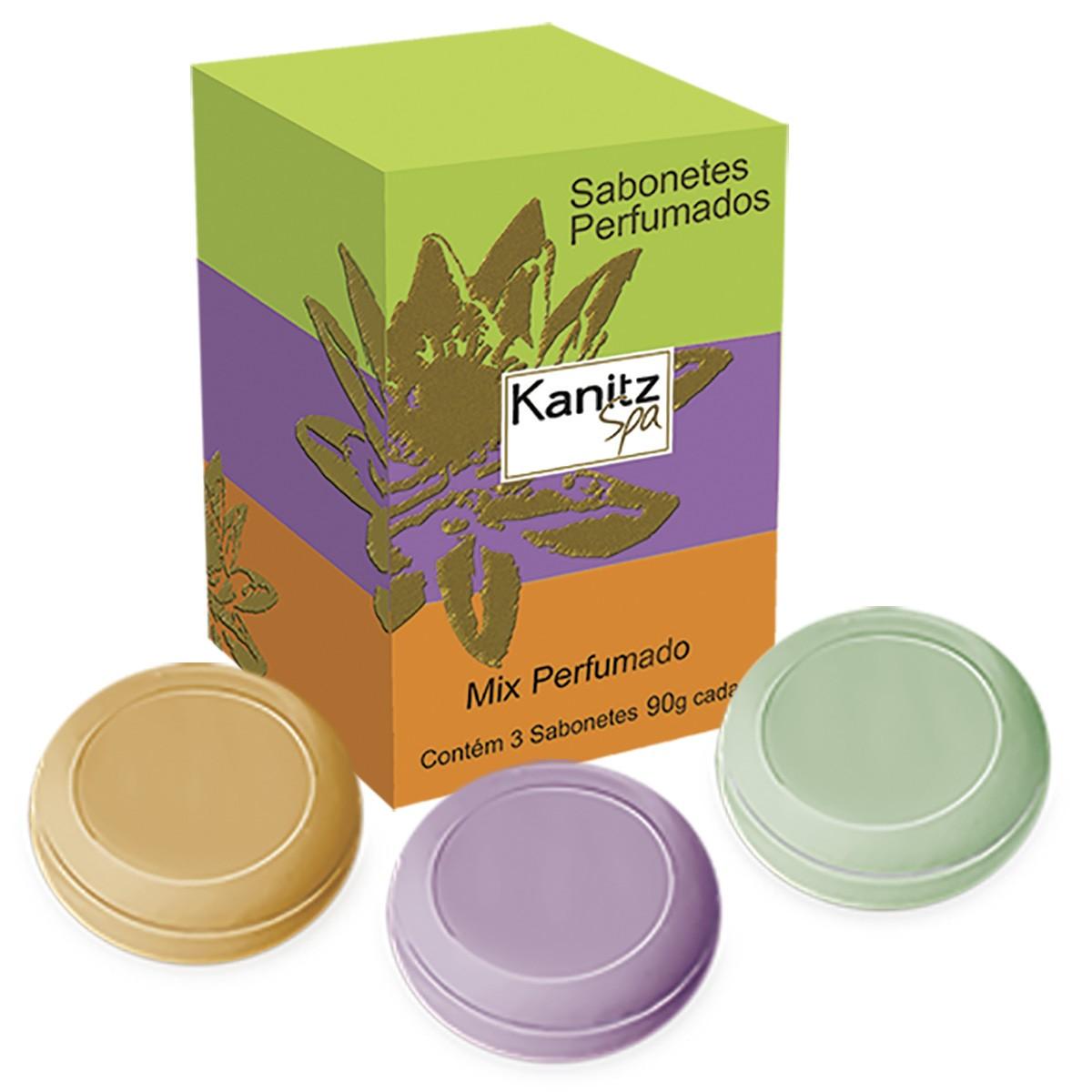 Sabonete Mix Perfumado Kanitz SPA 3x90g