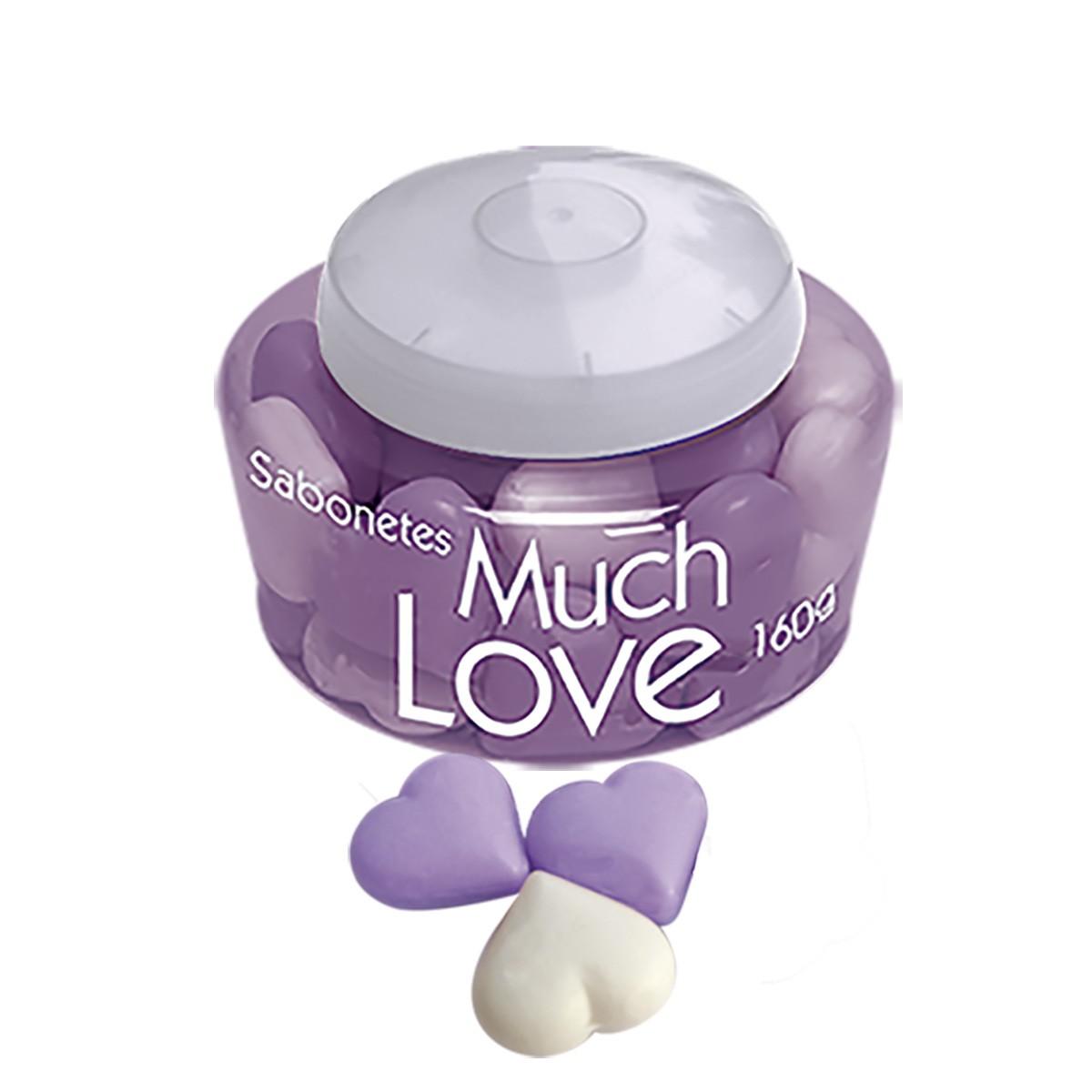 Sabonete Much Love Mini Coração Lilac 160g