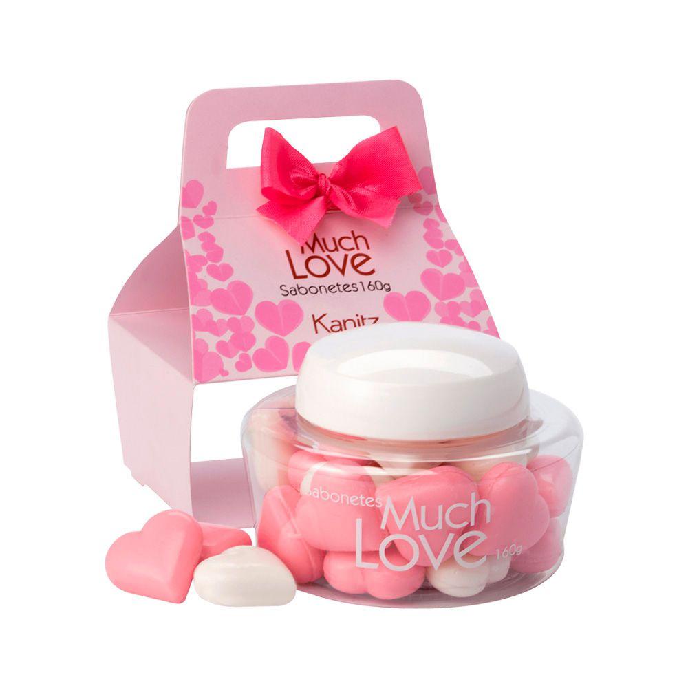 Sabonete Much Love Mini Coração Pink 160g