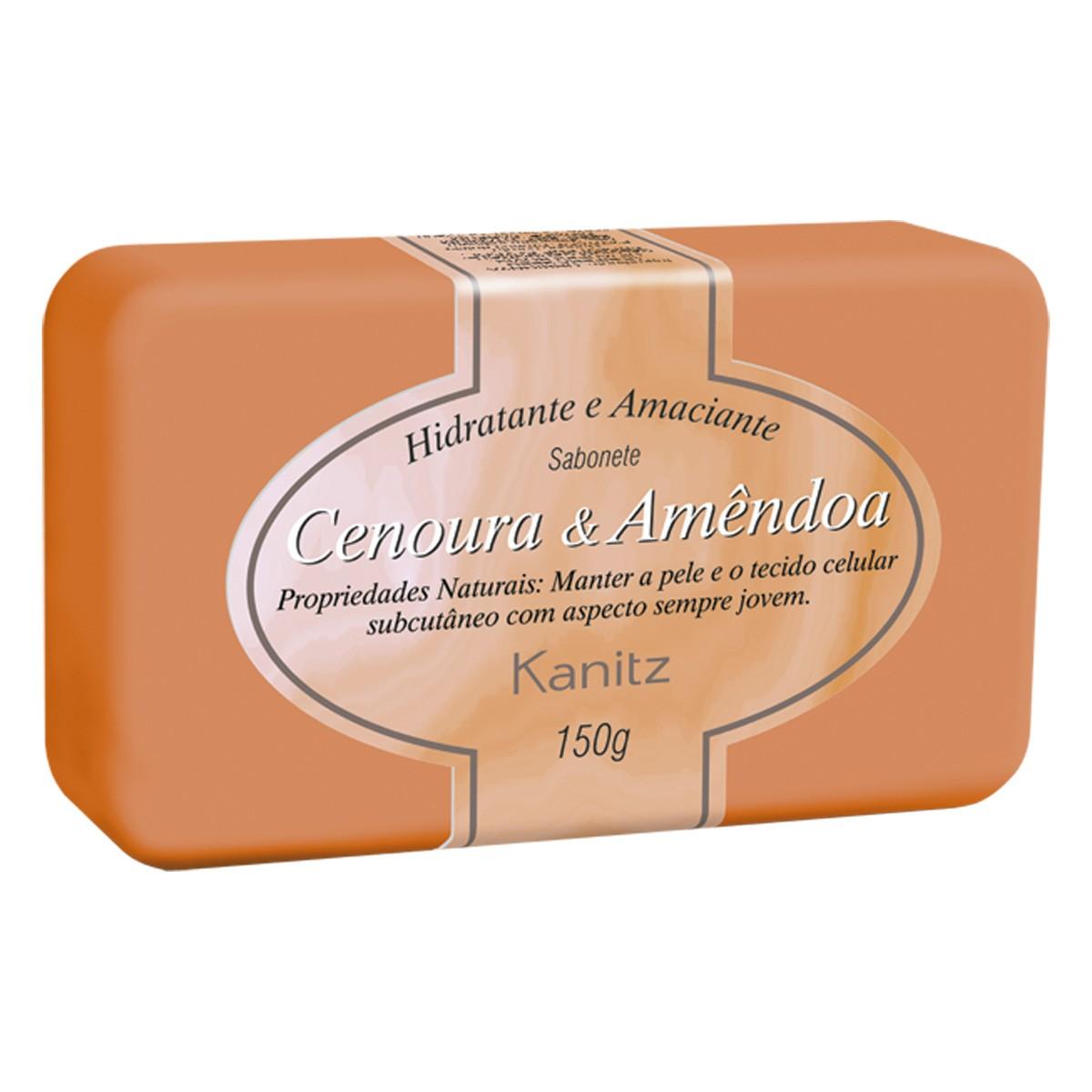 Sabonete Tratamento Cenoura/Amendoa 150g
