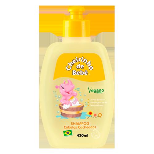 Shampoo Cabelos Cacheados Cheirinho de Bebê 430 ml