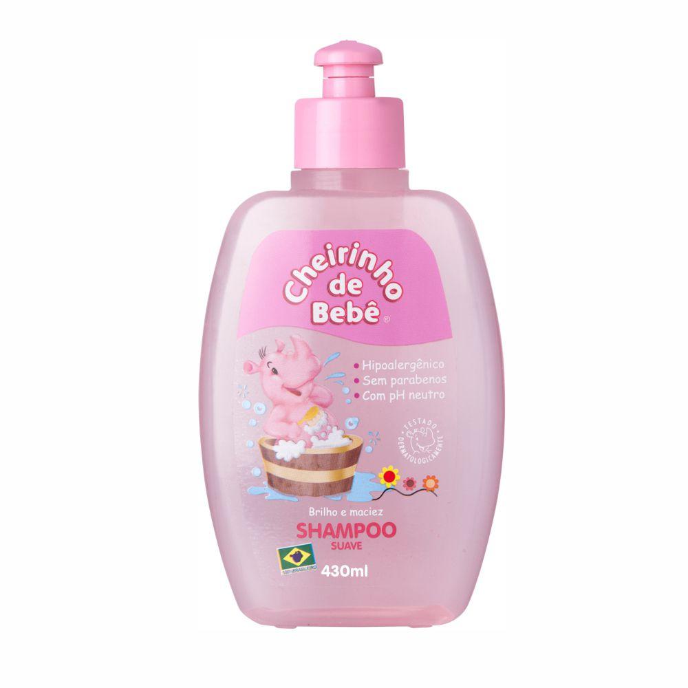 Shampoo Cheirinho de Bebê 430 ml