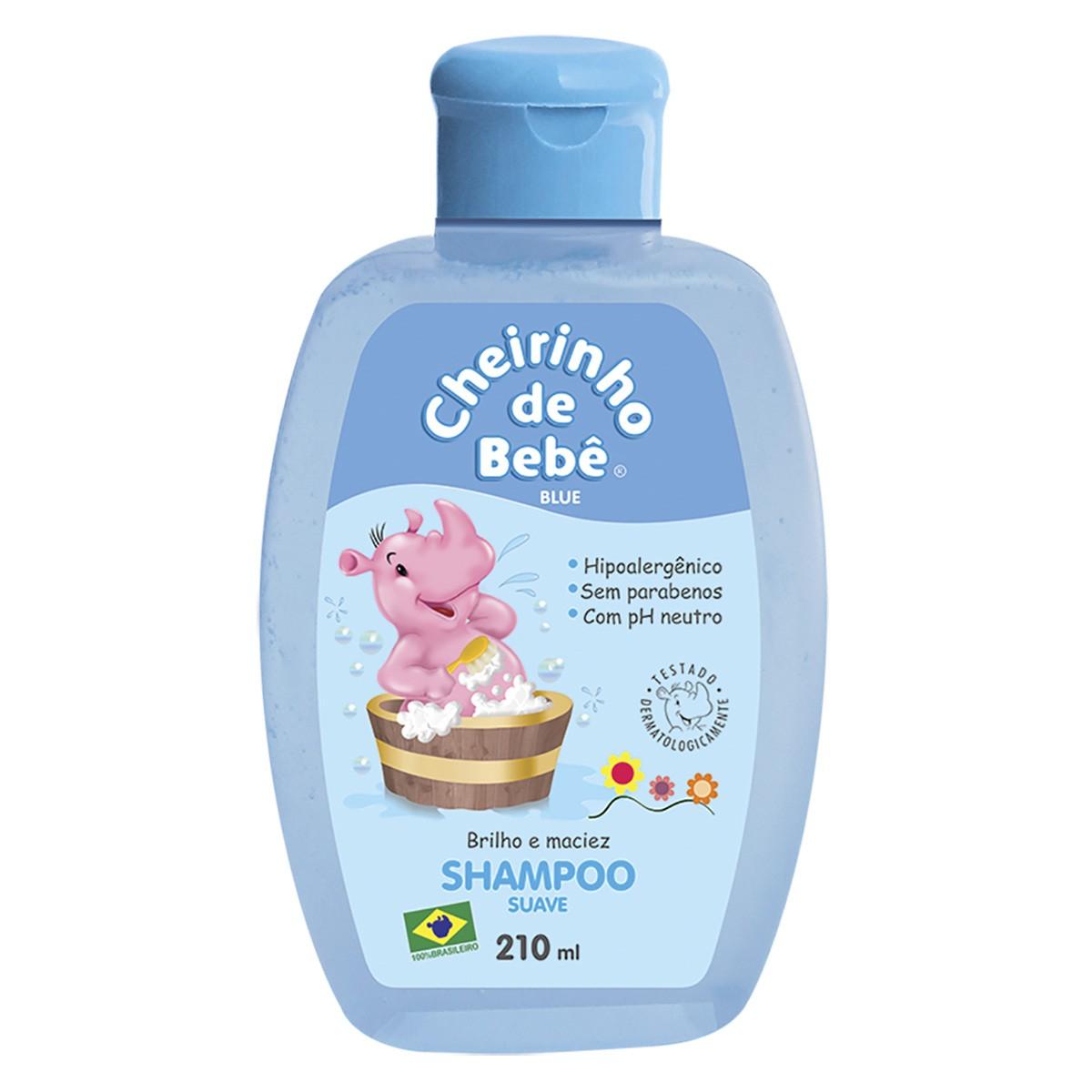 Shampoo Cheirinho de Bebê Blue 210ml