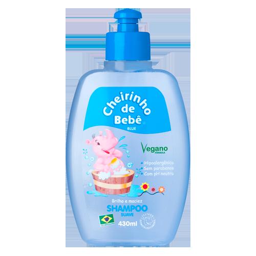 Shampoo Cheirinho de Bebê Blue 430 ml