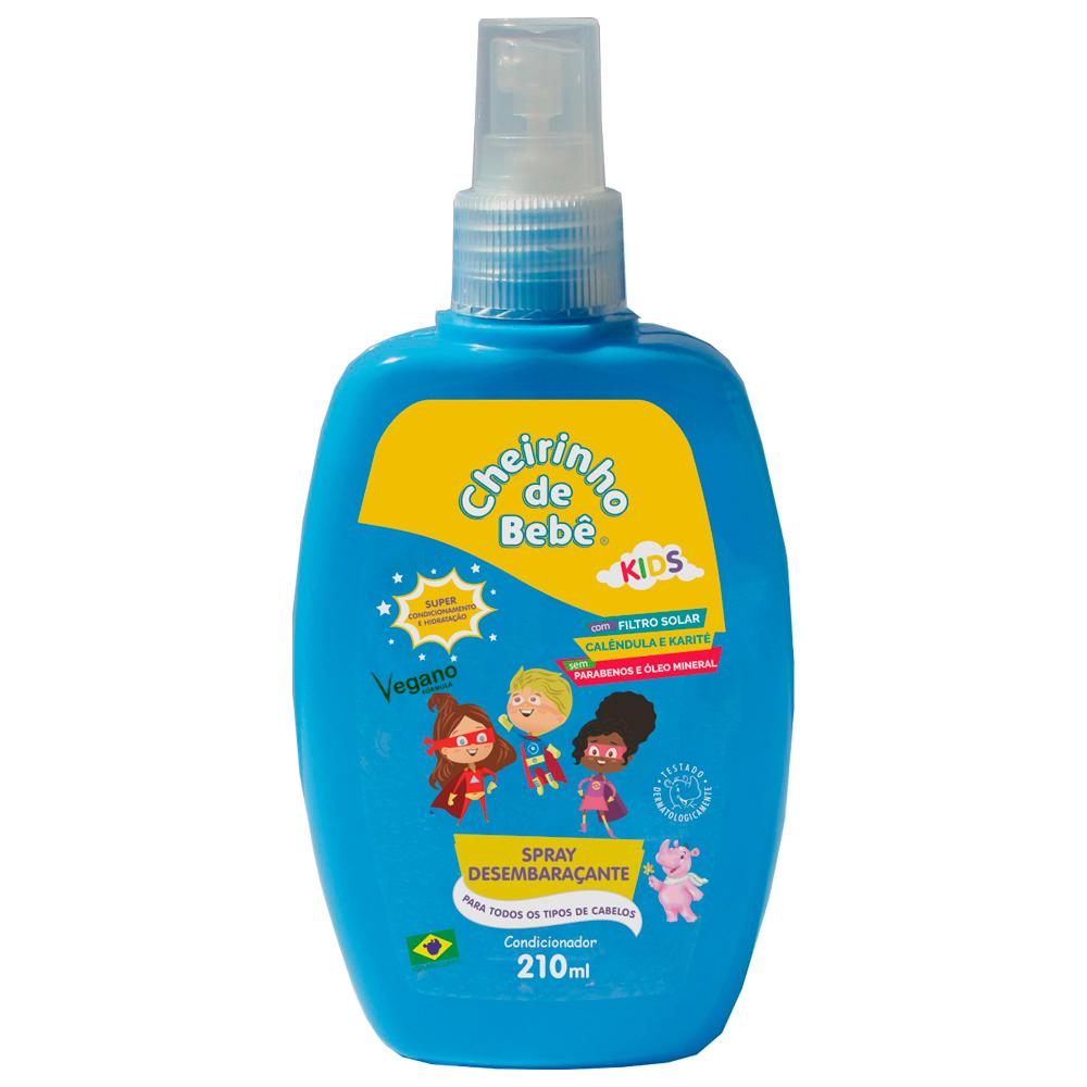 Spray Desembaraçante  Cheirinho de Bebê Kids 210 ml