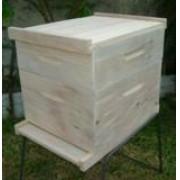 Caixa para abelhas com 01 melgueira