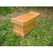 Caixa para abelhas jataí e mirim modelo horizontal