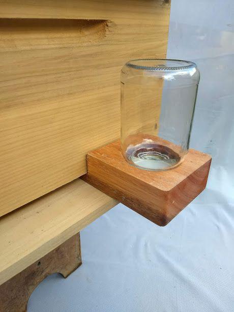 Alimentador para abelhas Boardmann tradicional, alimentador apicultura