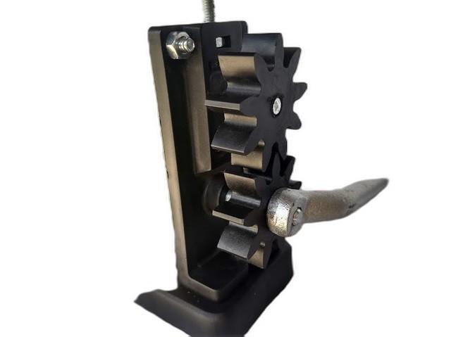 Cilindro alveolador de cera de abelhas manual , estampadora de cera
