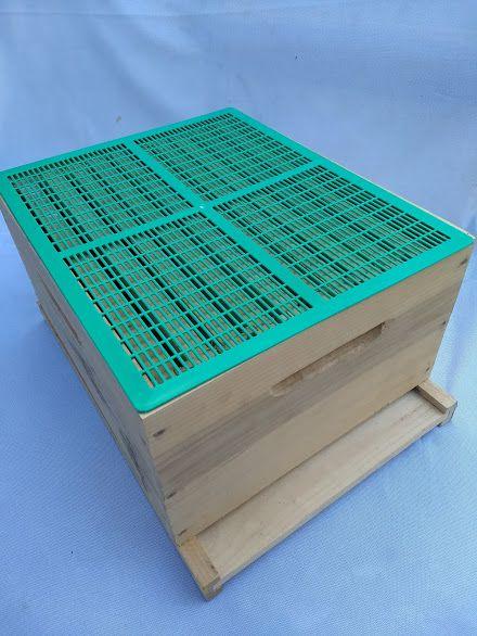 Tela excluidora de abelha rainha plástica