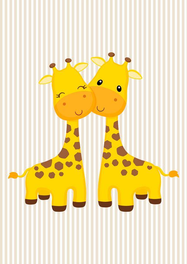 Kit Três Quadros Safari Leão, Girafa e Zebra
