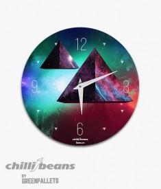 Relógio de parede ChilliBeans - Pirâmide
