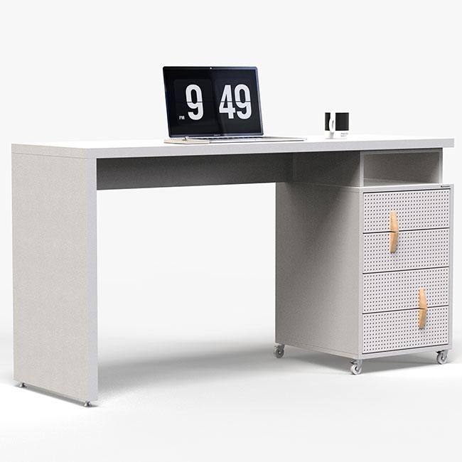Escrivaninha Office - Branco  - Greenpallets