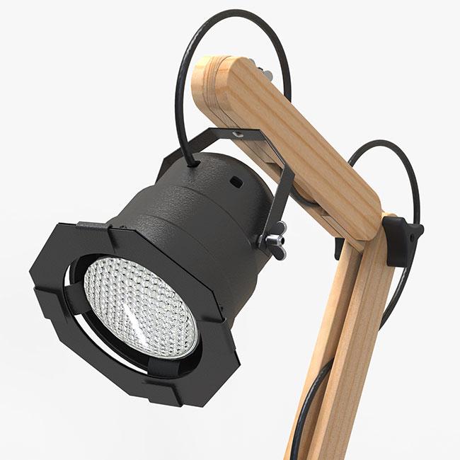 Luminária de mesa Hotspot  - Greenpallets