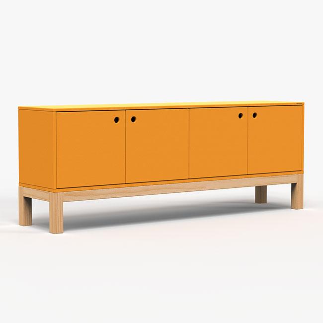 Rack Standard - Amarelo  - Greenpallets