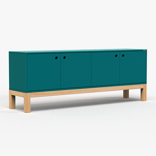 Rack Standard - Azul petróleo  - Greenpallets