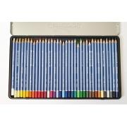[DESAPEGO - USADO] Conjunto na Lata de Lápis de Cor Aquarelável Cretacolor 36 cores