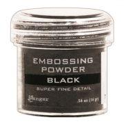 Pó para Emboss - Ranger Embossing Powder - Super Fine Black