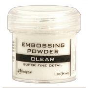 Pó para Emboss - Ranger Embossing Powder - Super Fine Clear