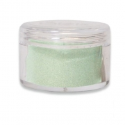 Sizzix Making Essential - Opaque Embossing Powder, Green Tea, 12g