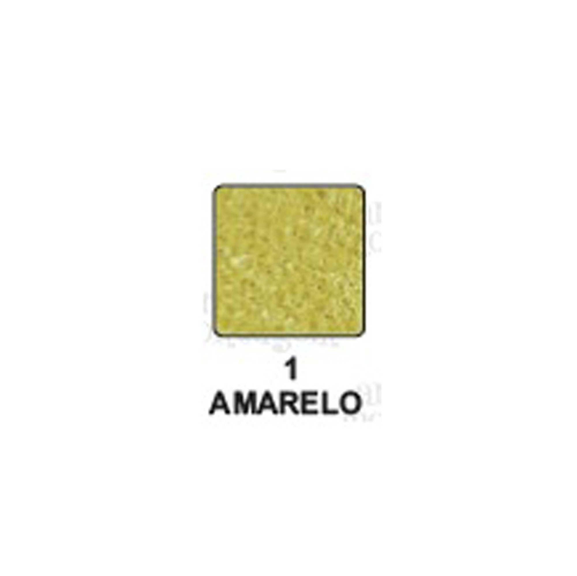 Carimbeira Art Montagem  - 3,3 x 3,3 cm - Perolada Amarelo