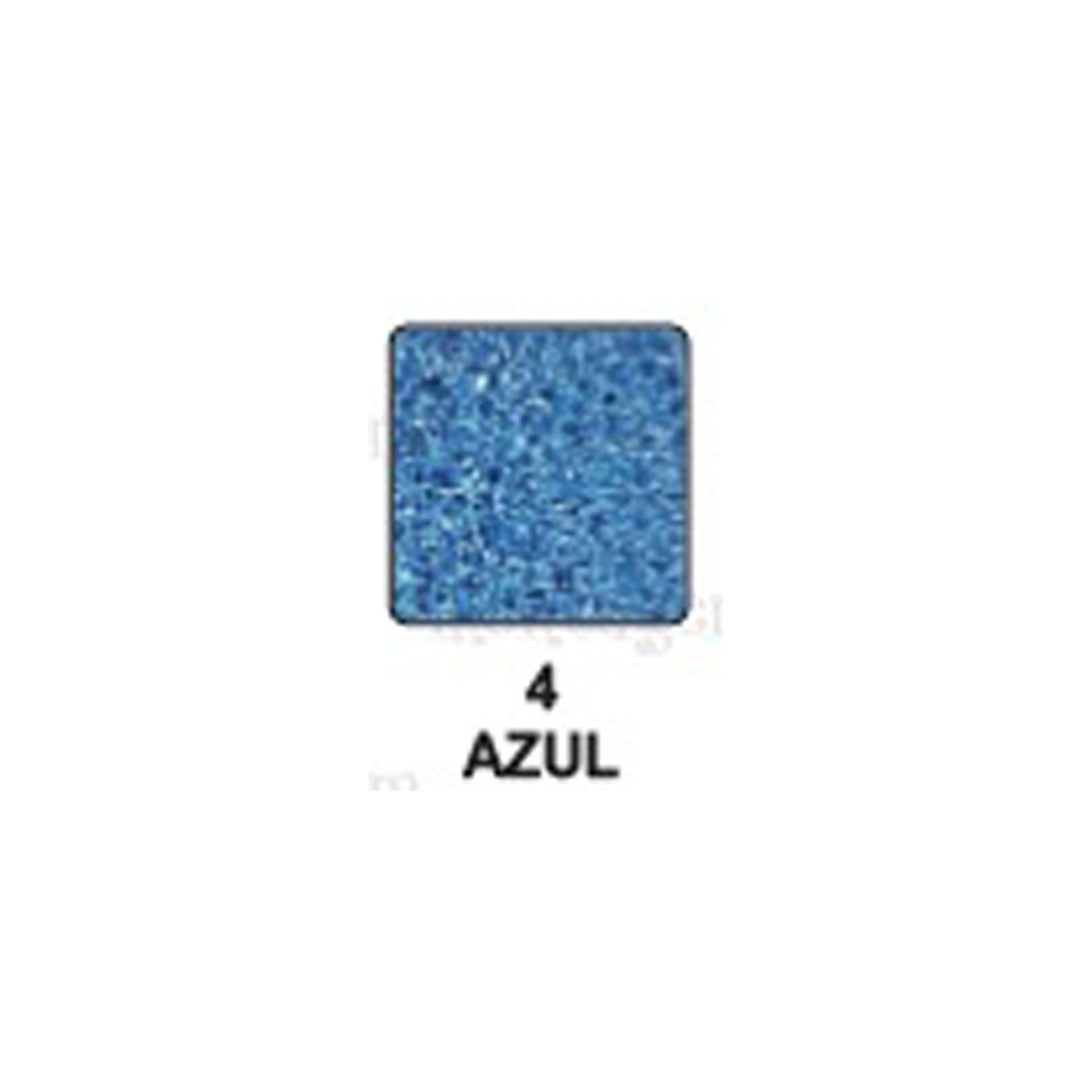 Carimbeira Art Montagem  - 3,3 x 3,3 cm - Perolado Azul