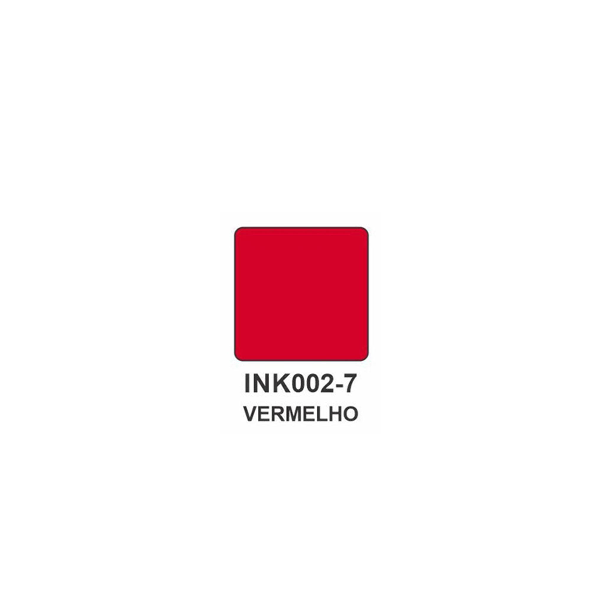 Carimbeira Art Montagem  - 3,3 x 3,3 cm - Vermelho