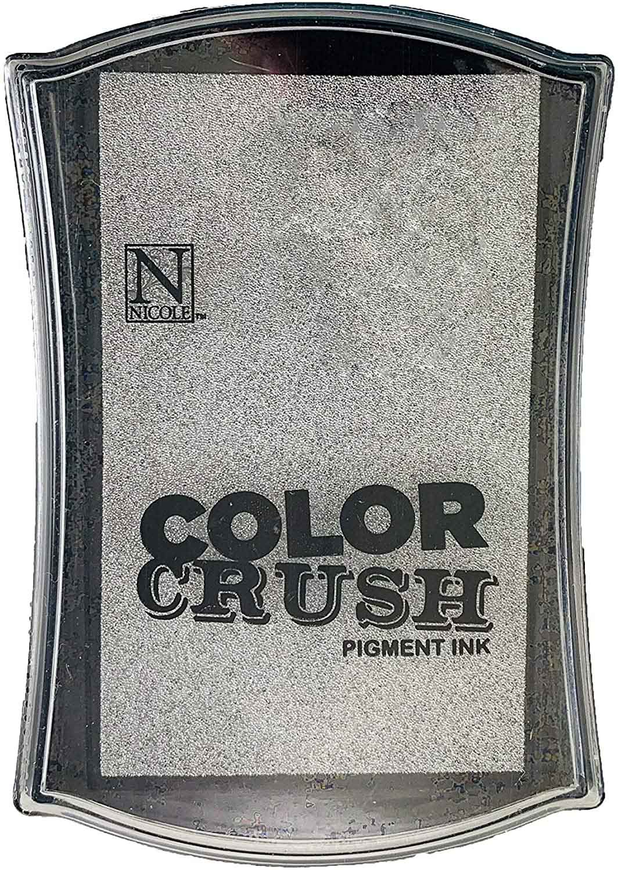 Carimbeira Color Crush Pigment Ink - Silver (Prata)