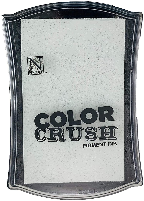 Carimbeira Color Crush Pigment Ink - White (Branca)