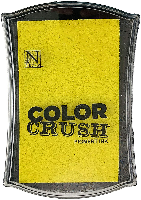 Carimbeira Color Crush Pigment Ink - Yellow (Amarela)