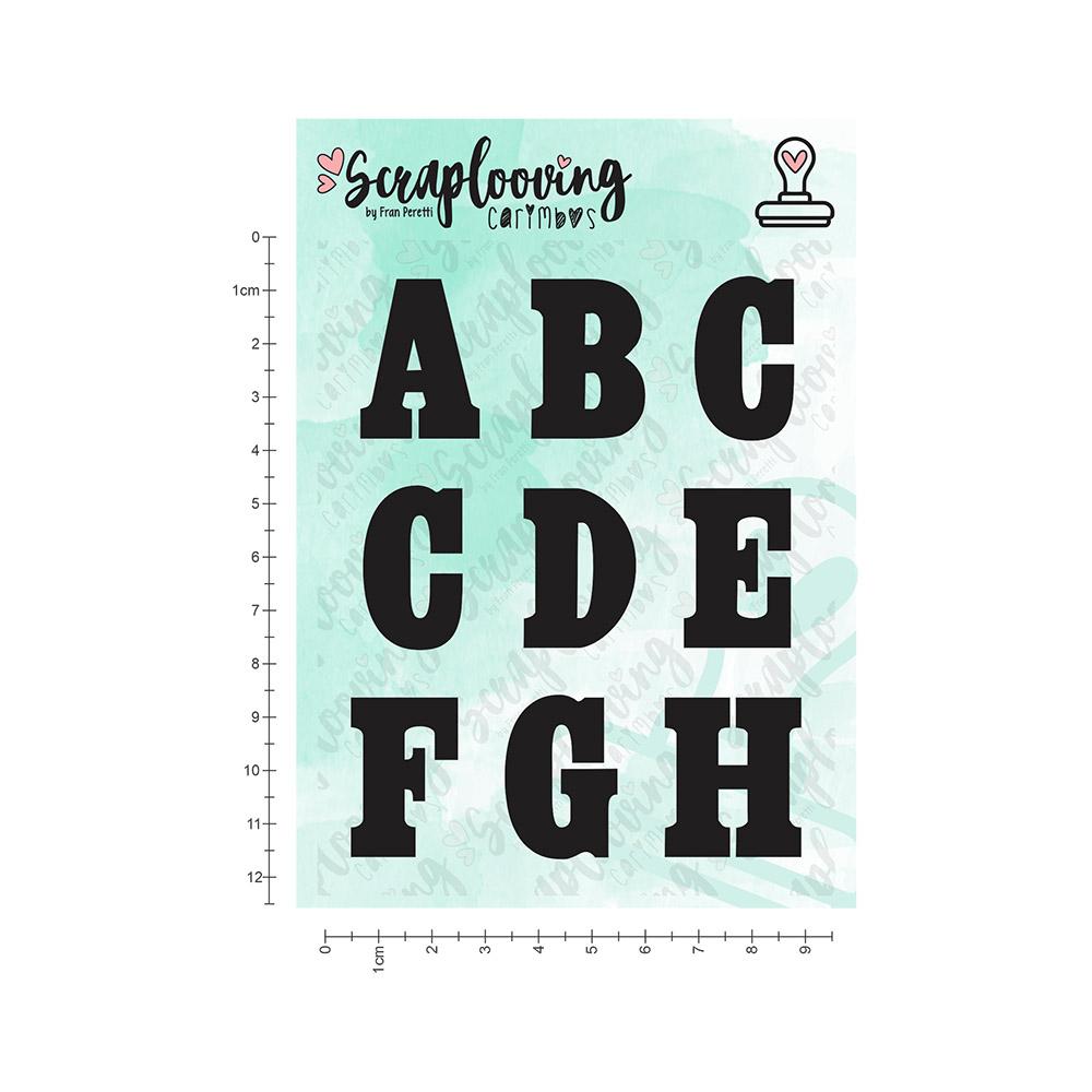Cartelas Alfabeto Grande - Bold - Maiúscula