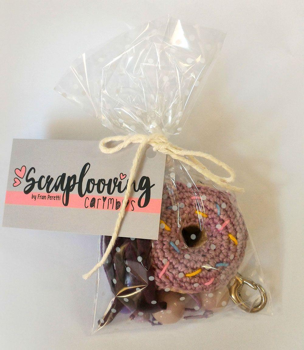 Chaveiro Donuts Roxo