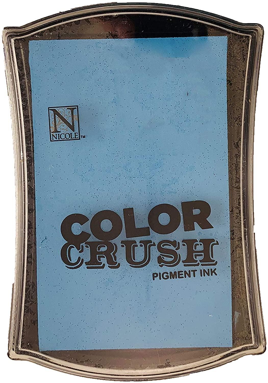 Carimbeira Color Crush Pigment Ink - Aqua