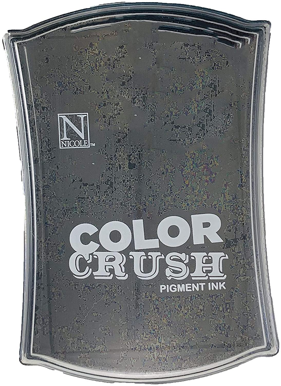 Carimbeira Color Crush Pigment Ink - Black (Preta)