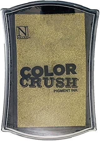 Carimbeira Color Crush Pigment Ink - Gold (Ouro)