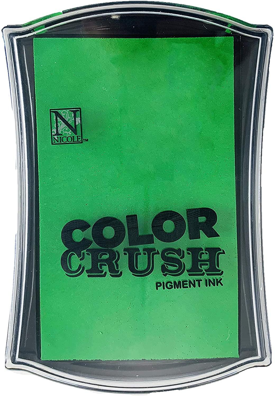 Carimbeira Color Crush Pigment Ink - Grass (Verde Grama)