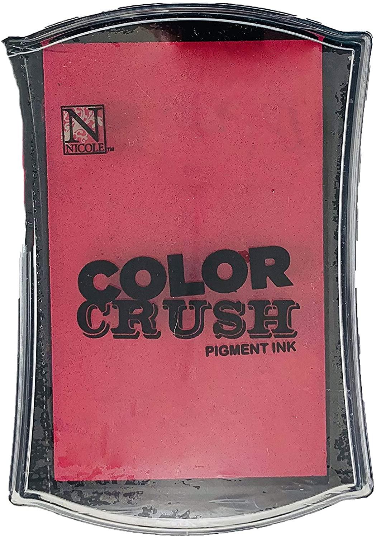 Carimbeira Color Crush Pigment Ink - Red (Vermelha)