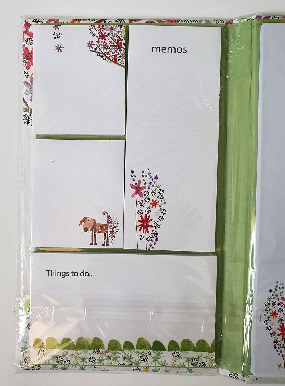 [DESAPEGO - NOVO] kit Blocos Anotações Cachorrinho