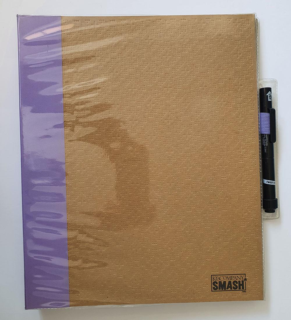 [DESAPEGO - NOVO - RARIDADE] SMASH BOOK Grande 35x29cm + acessórios