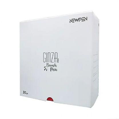 Kit Caneta Pincel Brush Pen Ginza Com 29 Cores e 1 Blender Newpen